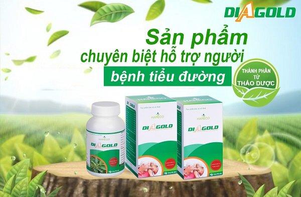 diagold sản phâm chuyên biệt hỗ trợ người bệnh tiểu đường