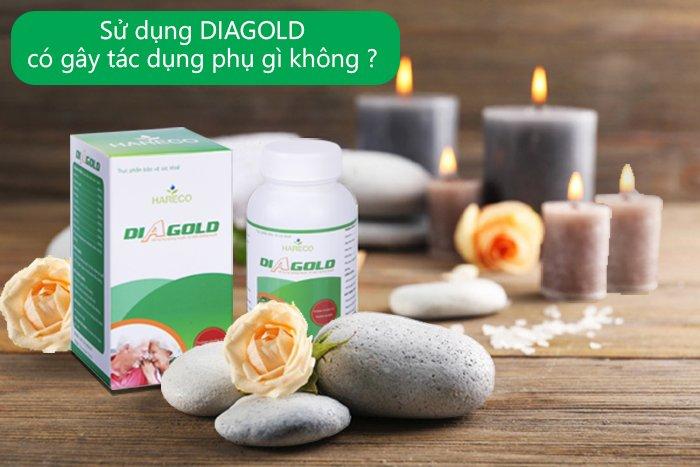 sử dụng diagold có gây tác dụng phụ không