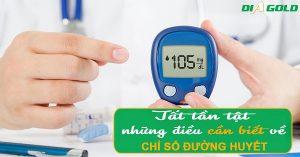 chỉ số đường huyết bao nhiêu là bình thường