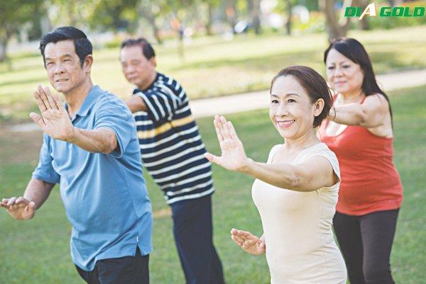 tập thể dục điều trị tiểu đường