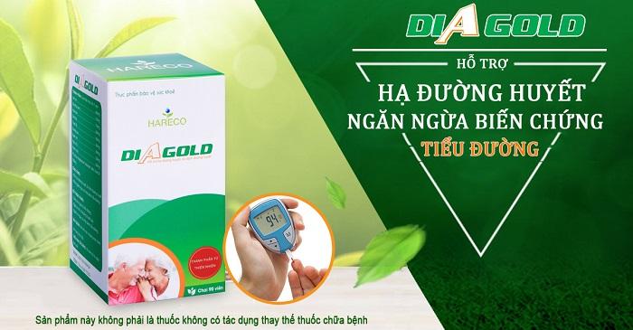 thuốc hỗ trợ điều trị tiểu đường diagold