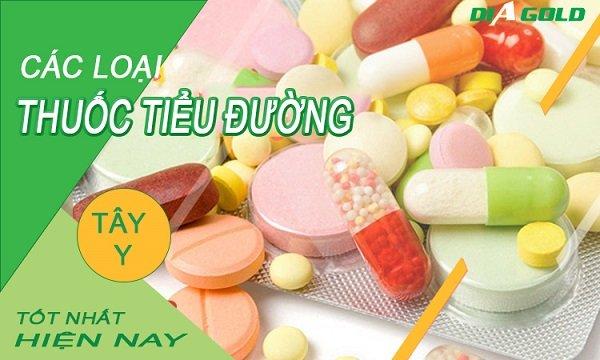 thuốc tây điều trị tiểu đường hiệu quả