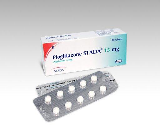 thuốc trị tiểu đường Pioglitazone