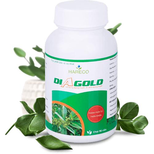 thuốc trị tiểu đường diagold