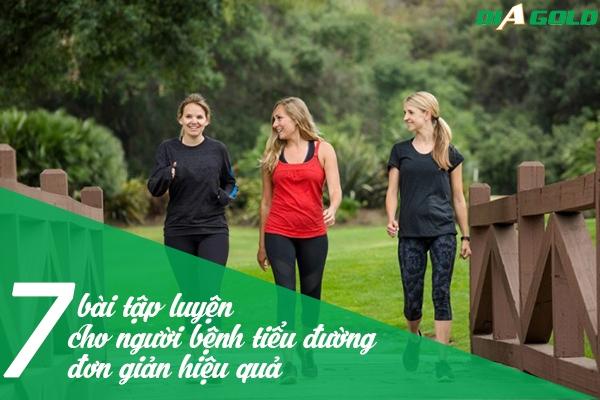 bài tập thể dục cho người bệnh tiểu đường