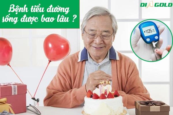 tiểu đường sống được bao lâu