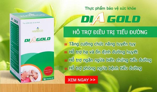 thuốc điều trị tiểu đường diagold