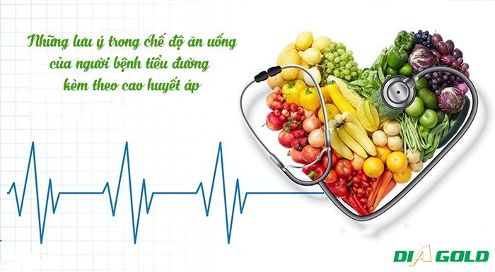 tiểu đường cao huyết áp nên ăn gì