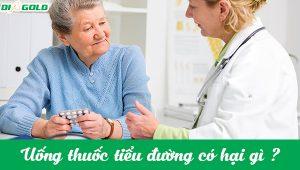 uống thuốc tiểu đường có tác dụng gì