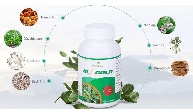 thành phần của thuốc tiểu đường Diagold