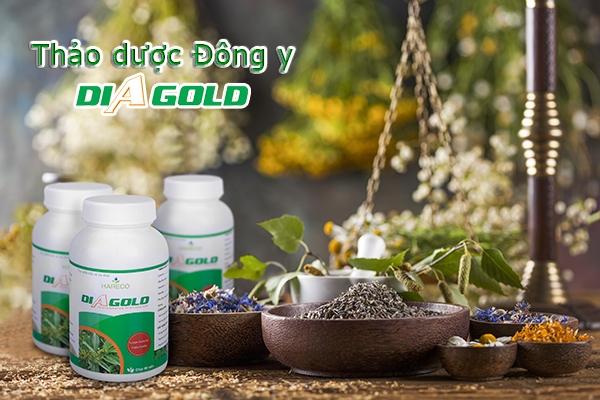 thuốc tiểu đường Đông y Diagold