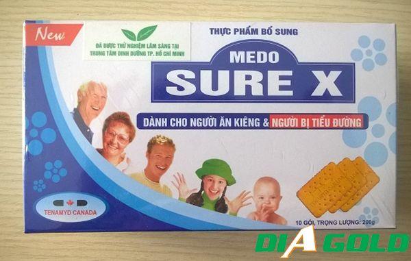 Bánh ăn kiêng Medosure X