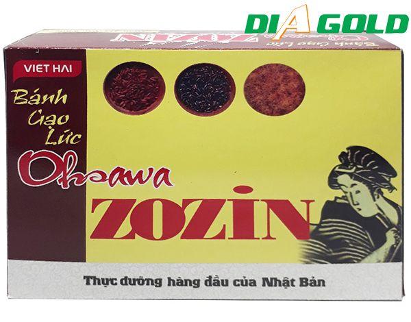 bánh gạo lứt cho người tiểu đường Agsawa ZoZin