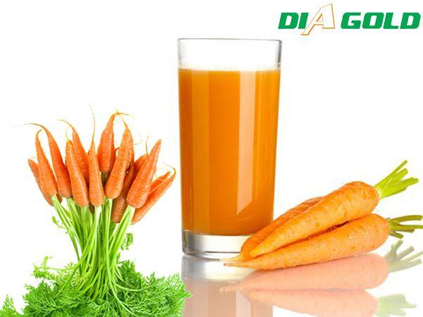 Bệnh tiểu đường uống nước ép cà rốt được không