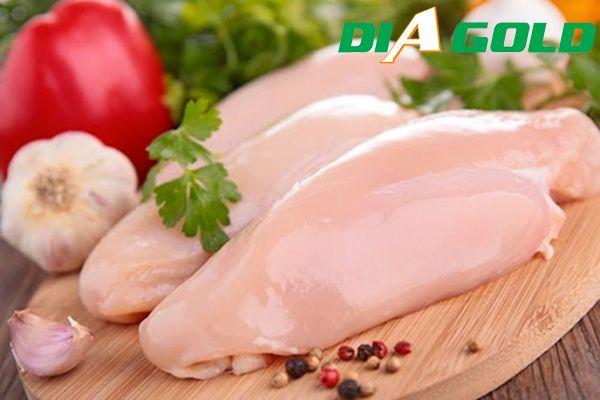 cách chế biến thịt gà cho người tiểu đường