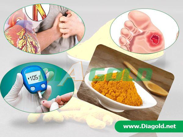 Người bệnh tiểu đường có uống tinh bột nghệ được không