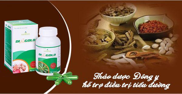 Diagold thảo dược Đông y hỗ trợ điều trị tiểu đường
