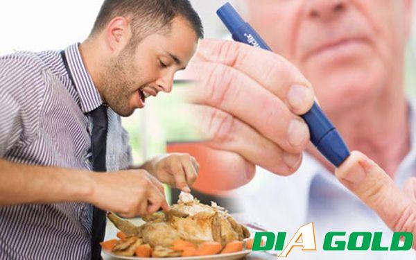 Chế độ ăn uống không lành mạnh gây bệnh tiểu đường