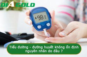 Cách ổn định đường huyết cho người tiểu đường