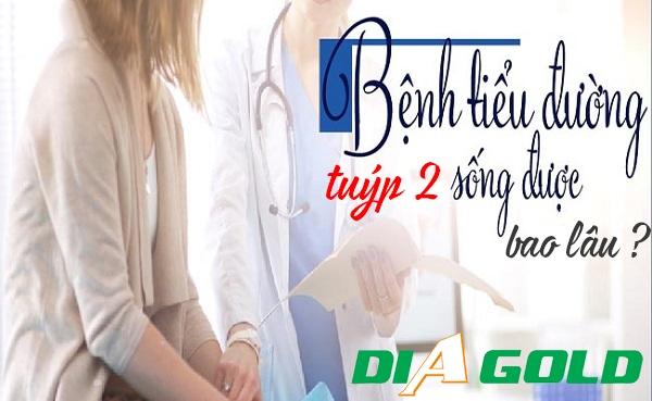 Bệnh tiểu đường tuýp 2 sống được bao lâu
