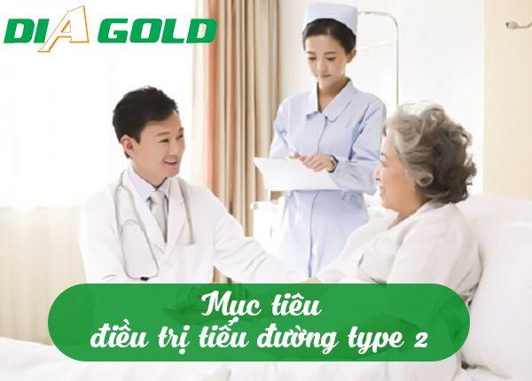 Điều trị tiểu đường type 2 mục tiêu là gì