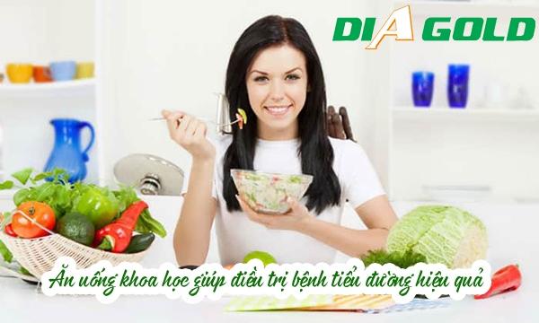 Chế độ ăn uống lành mạnh giúp điều trị tiểu đường hiệu quả