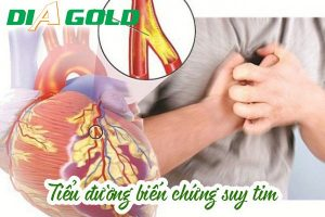 Tiểu đường biến chứng suy tim nguyên nhân cách phòng tránh