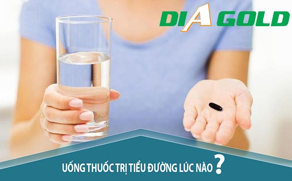 Uống thuốc tiểu đường khi nào