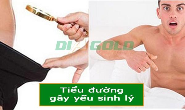 yếu sinh lý bệnh tiểu đường