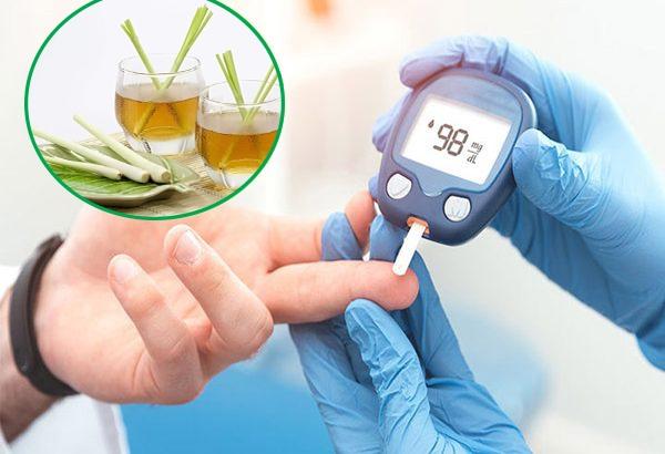 Trị bệnh tiểu đường bằng cây sả cần lưu ý gì