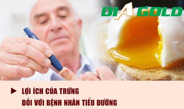 Lợi ích của trứng đối với người tiểu đường