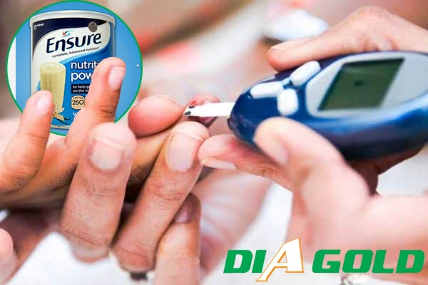 Người tiểu đường uống sửa ensure được không