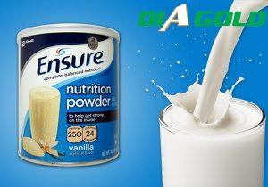 Bệnh tiểu đường uống sữa ensure được không